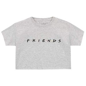 Oversized Cropped Friends Tshirt
